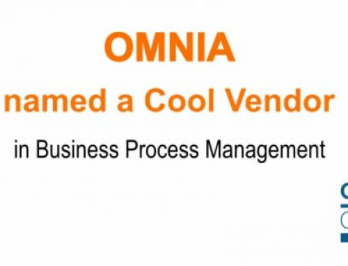 Omnia Named Gartner 2015 Cool Vendor