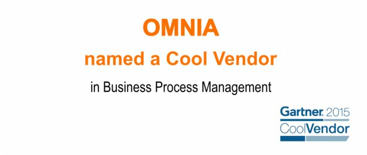 Omnia Named Cool Vendor Gartner