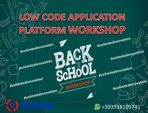 WORKSHOP: Omnia low code application platform