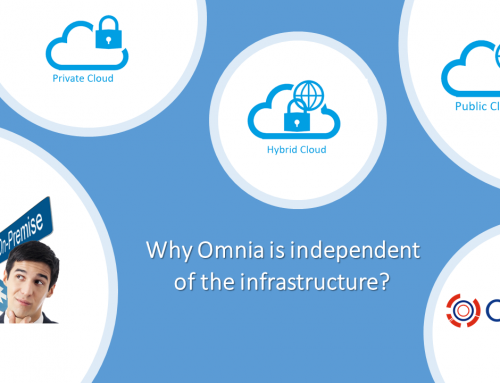 Why Omnia is independent of the infrastructure?